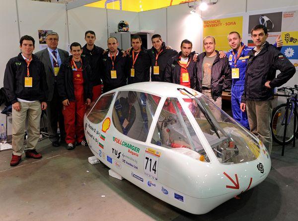 Български електромобил е втори по енергийна ефективност в Shell Eco-marathon Европа 2012