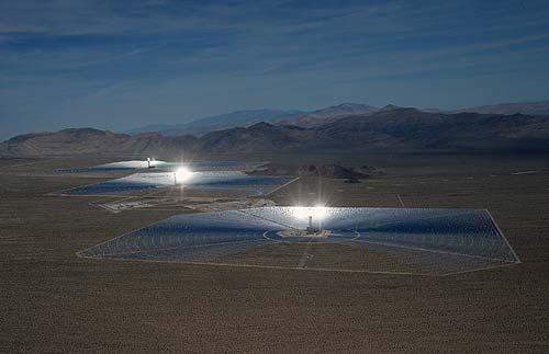 Най-голямата в света соларна електроцентрала бе пусната в експлоатация