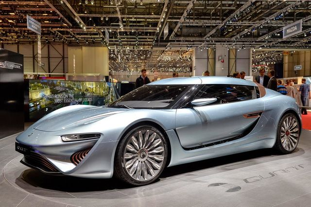 Фантастика: Кола вдига  350 km/h ползвайки за гориво солена вода