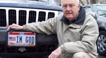 Aмерикански атеист иска от съда правото да се нарича Бог