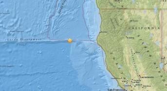 Трус с магнитуд 6,8 по Рихтер удари  Калифорния