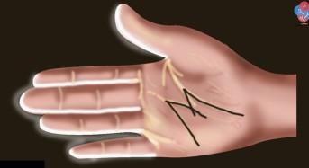 """Мистериозните хора имат на дланта си буквата """"М"""""""