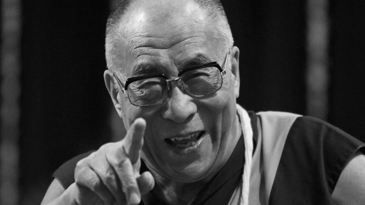 """FILE - In this Feb. 18, 2011 file photo, Tibetan spiritual leader the Dalai Lama gestures as he addresses the Mumbai University students in Mumbai, India. The Dalai Lama said Thursday, March 10, 2011, that he will give up his political role in Tibet's government-in-exile, shifting that power to an elected representative. The Tibetan spiritual leader, speaking on the anniversary of the 1959 Tibetan uprising against Chinese control, said the time has come """"to devolve my formal authority to the elected leader."""" (AP Photo/Rafiq Maqbool, File)"""