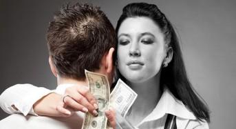 Съгласни ли сте, че Жената свършва там, където започват Парите?