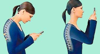 """""""Синдромът на компютърната шия"""": Смартфонът и компютърът предизвикват болести и  стареене на лицето"""