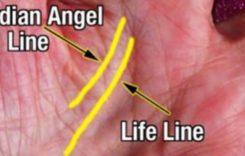 Ако имате линия на ангел-пазител на дланта си – вие сте много особени (видео)